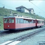 The Rigi Bahn railway in the Swiss Mountains