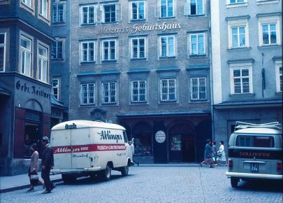 A Photo of Mozart's Birthplace from about 1972