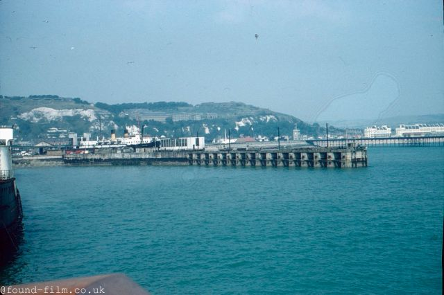 Dover Marina railway station in the mid 1950s
