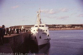 Queen of the Isles on the Scilly Isles 1974