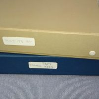 A Huge donation of slides to the Found Film archive