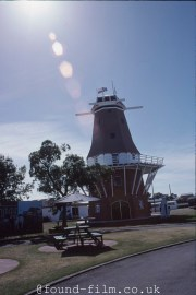 The De Molen Windmill at Foxton, New Zealand - May 2003