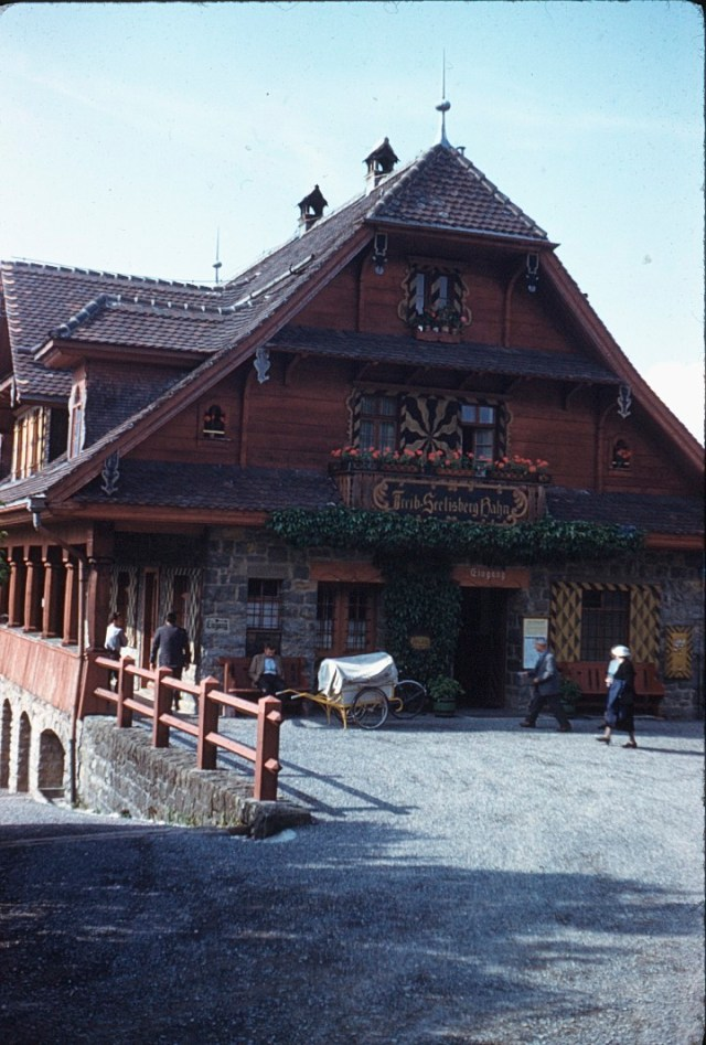 A Glorious Holiday in Switzerland in the early 1960s