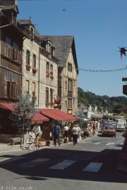 The town of Dinan in France