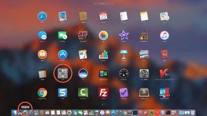macOS ターミナルの起動です