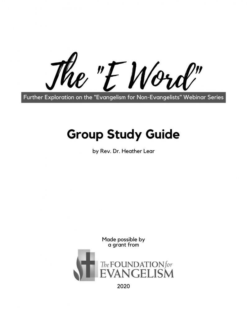 "The ""E Word"" Group Study Guide"