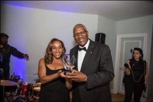 Sir Rodney with Kathy Sledge
