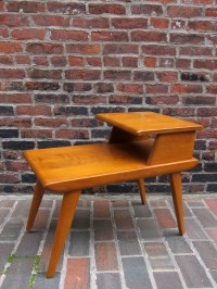 Heywood Wakefield Mid Century Modern Tiered End Table ...