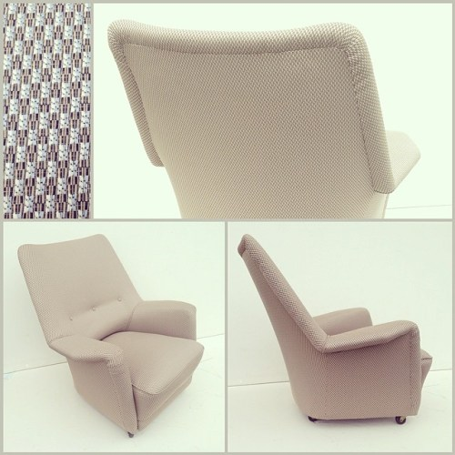 x2 Dormouse Chair by Ernest Race