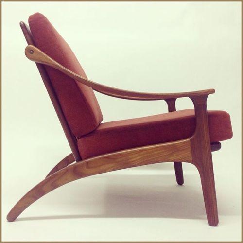 Lounge chair by Arne Hovmand Olsen