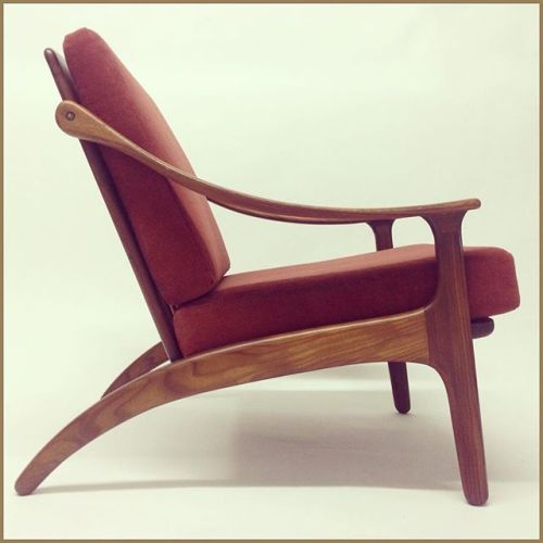 Lounge chair by Arne Hovmand Olsen