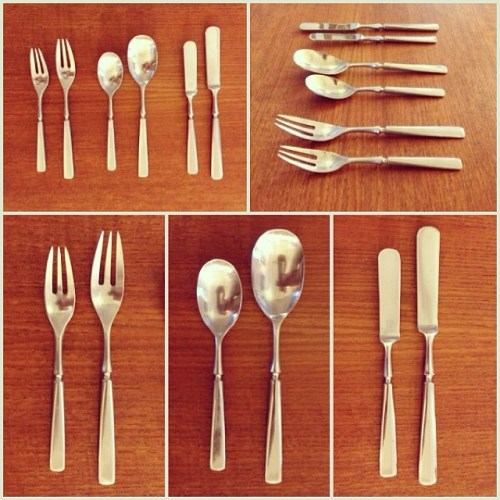 Dansk Anvil Flatware Set