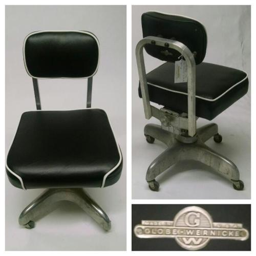 2x Globe-Wernicke Office Chairs