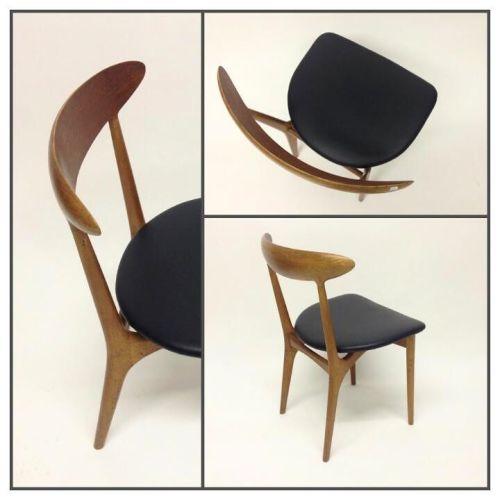 Teak Side Chair