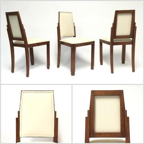 6x Art Deco Dining Chairs