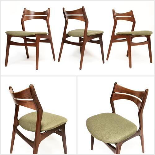 10 Erik Buck Dining Chairs