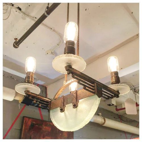 Art Deco Lighting Fixture