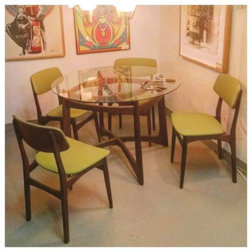 Set of 4 Danish Chairs