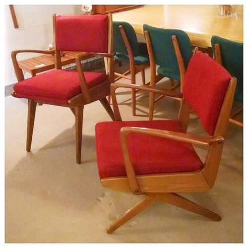 Danish Birch Chairs