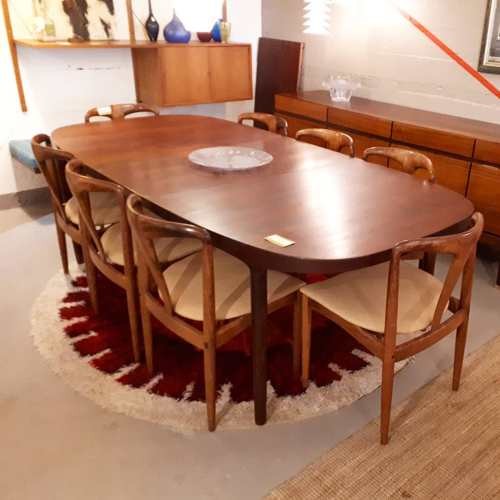 Rosewood Table by Ostergaard