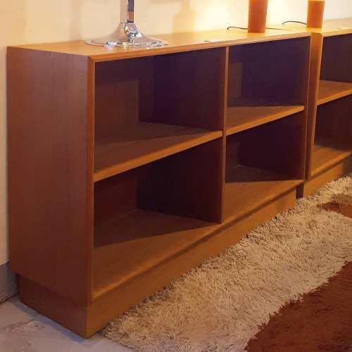 Teak bookcases
