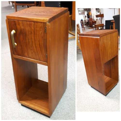 Walnut Pedestal/Nightstand