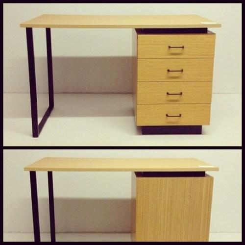 Reversible Swiss Desk