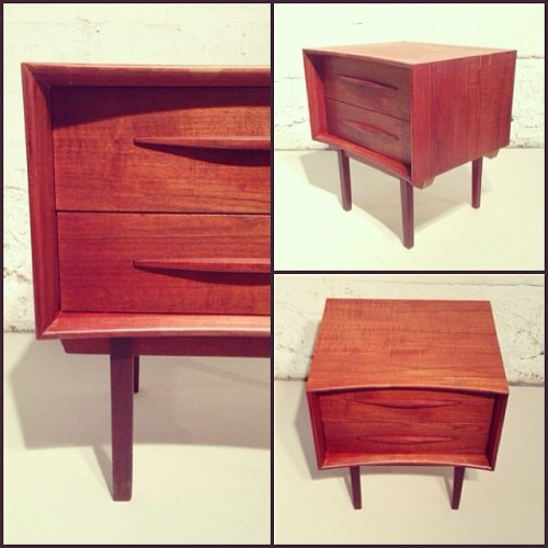 Custom Canadian Teak Night Stand