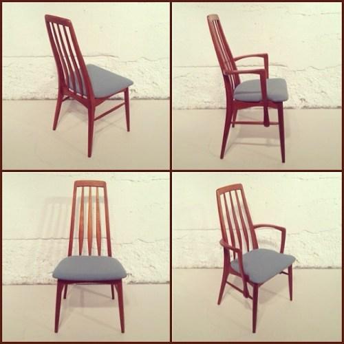 x4 Kofod-Larsen Eva Dining Chairs