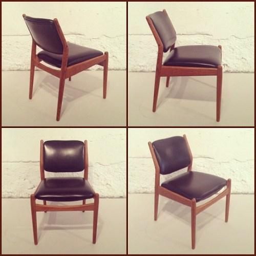 x6 Arne Vodder Dining Chairs