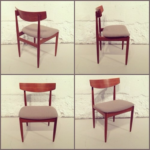 x4 G-Plan Teak Chairs