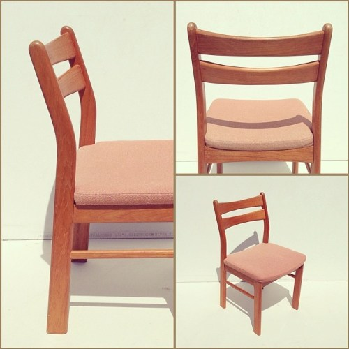 x4 Solid Teak Side Chairs by RS Design