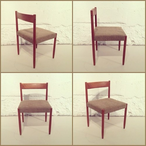 x4 Danish Dining Chairs