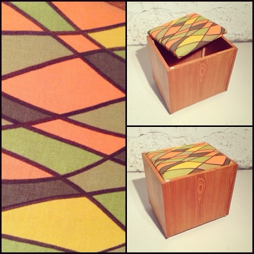 Teak Storage Box/Stool