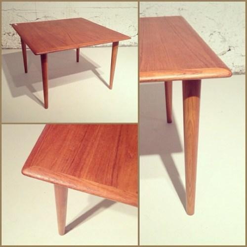 Simple Teak End Table