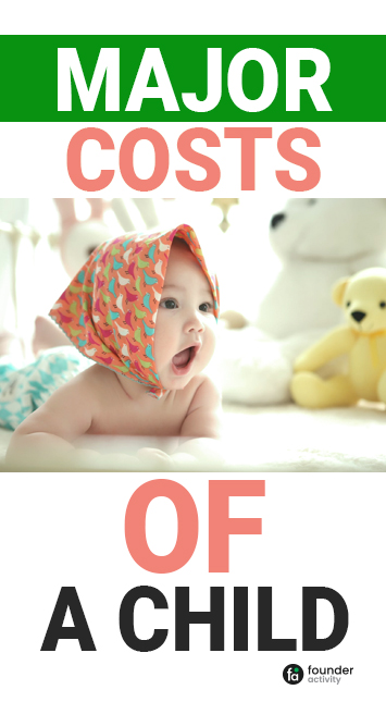 major costs of a child