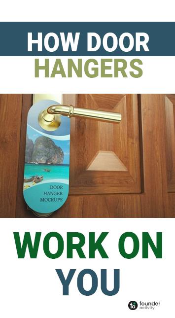 how door hangers work on you