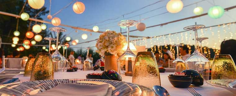 How to Start an Event Decor Rental Business wedding decoration party