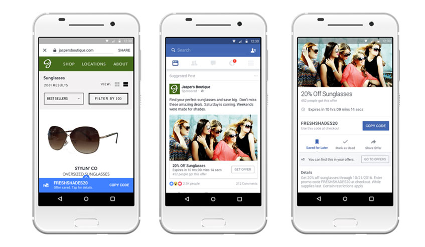 Facebook marketing strategy for small business Image ads