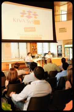 Mick Mountz, Founder and CEO of Kiva Systems June 22, 2010 at the Microsoft NERD Center
