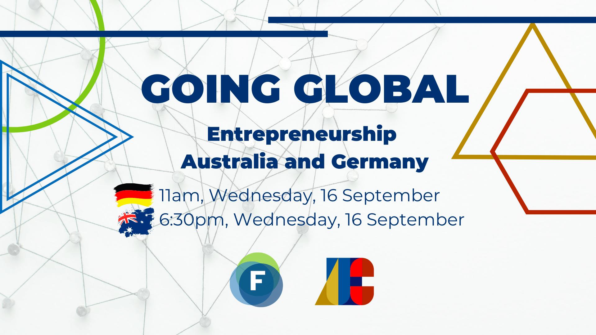 digitale Konferenz zum Entrepreneurship Austausch zwischen Australien und Deutschland genauer zwischen Freiburg und Adelaide
