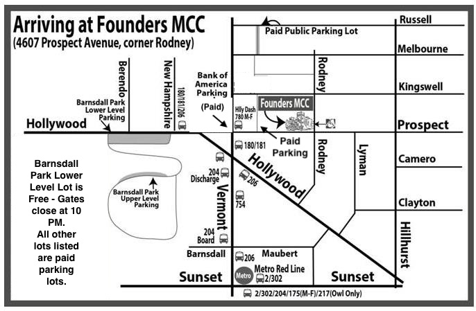 Map Of America Hollywood.Visitor Information Founders Mcc