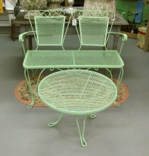 In Ithaca Vintage Patio Set Sold