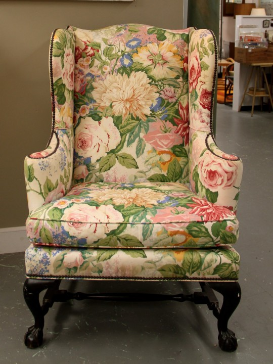 FOUND in ITHACA  Delicious Wing Back Chair