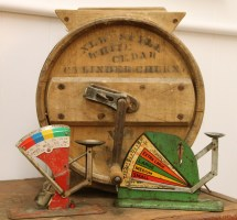 In Ithaca Antique Cylinder Butter Churn Sold