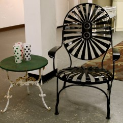 Antique Lawn Chairs Kmart Desk Chair Found In Ithaca  Fabulous French Pinwheel Patio