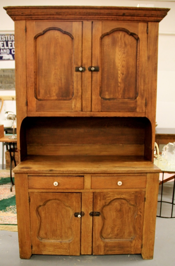 Antique Kitchen Hutch Cupboard