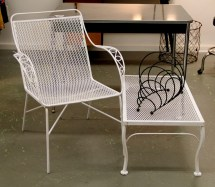 In Ithaca 1960 Wire Garden Chair Sold