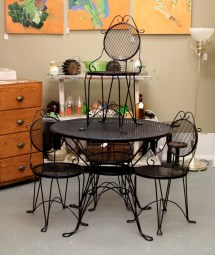 In Ithaca Lovely Vintage Patio Set Sold