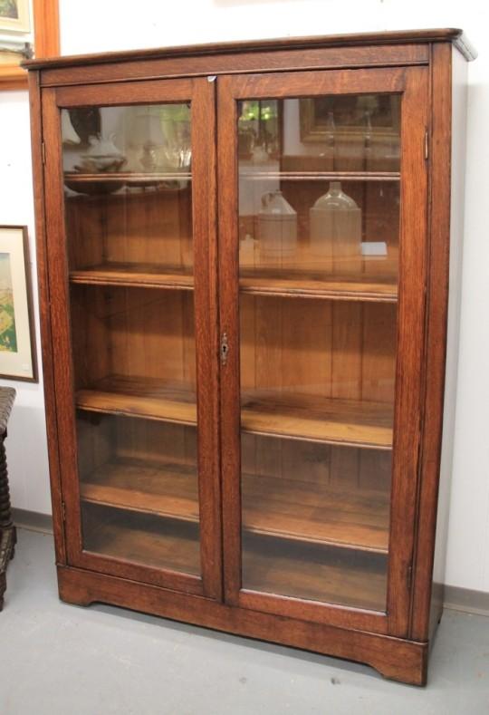 FOUND in ITHACA  Mission Oak GlassDoor Bookcase SOLD